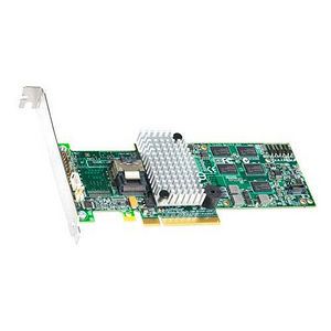 Intel RS2BL040 4-Ports SAS RAID Controller - Serial Attached SCSI - PCI Express x8 - Plug-in Card