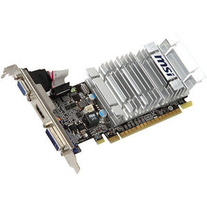 MSI N8400GS-MD1GD3H/LP GeForce 8400 GS Graphic Card - 520 MHz Core - 1 GB DDR3 SDRAM - PCI-E x16