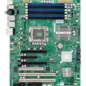 Supermicro MBD-X8SAX-O X8SAX Desktop Motherboard - Intel Chipset - Socket B LGA-1366 - 1 x Retail