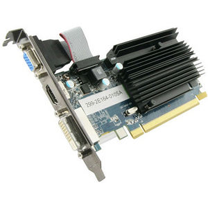 Sapphire 100322L Radeon HD 6450 Graphic Card - 625 MHz Core - 1 GB DDR3 SDRAM - PCI-E 2.0 x16