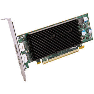 Matrox M9128-E1024LAF M9128 Graphic Card - 1 GB DDR2 SDRAM - Low-profile