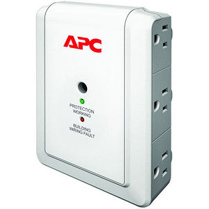 APC P6WT SurgeArrest Essential 6-Outlets Surge Suppressor