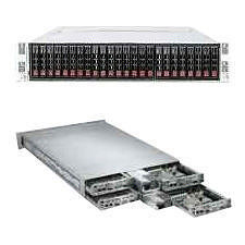 Supermicro AS-2122TG-HTRF 2U Rack Barebone - AMD SR5670 Chipset - 4 Nodes - 2 x Socket G34 LGA-1944