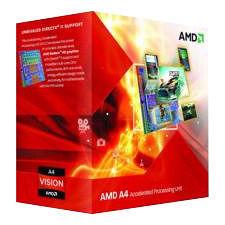 AMD AD5300OKA23HJ A4-5300 Dual-core (2 Core) 3.40 GHz Processor - Socket FM2 OEM Pack