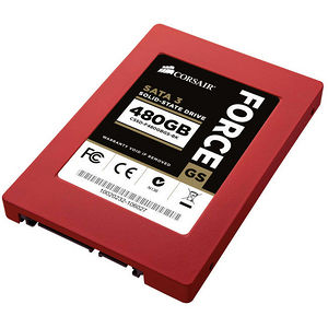 "Corsair CSSD-F480GBGS-BK Force GS 480 GB Solid State Drive - SATA/600 - 2.5"" Drive - Internal"