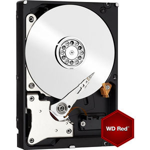 "WD WD30EFRX Red 3 TB Hard Drive - SATA (SATA/600) - 3.5"" Drive - Internal"