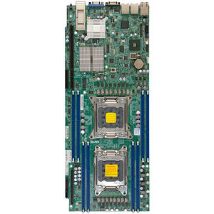 Supermicro MBD-X9DRT-HF-B Server Motherboard - Intel C602 Chipset - Socket R LGA-2011 - Bulk