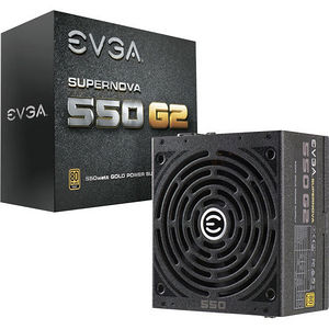 EVGA 220-G2-0550-Y1 SuperNOVA 550 G2 Power Supply