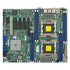 Supermicro MBD-X9DRL-3F-O-EW2 Server Motherboard - Intel C606 Chipset - Socket R LGA-2011 - Retail
