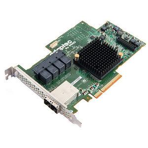 Adaptec 2274700-R RAID 71685 SGL; SUPPORTS RAID 0, 1, 1E, 5, 6, 10, 50, 60; HALF LENGTH-F