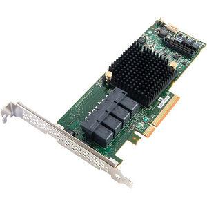 Adaptec 2274400-R RAID 71605 SGL; SUPPORTS RAID 0, 1, 1E, 5, 6, 10, 50, 60; MD2-LOW PROFI