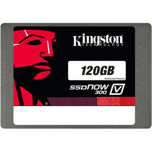 "Kingston SV300S37A/120G SSDNow V300 120 GB Solid State Drive - SATA/600 - 2.5"" Drive - Internal"