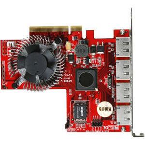 iStarUSA RAID-SIL3124-4PM 4 eSATA Ports with Port Multiplier Function RAID Controller