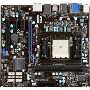 MSI FM2-A75MA-E35 Desktop Motherboard - AMD Chipset - Socket FM2