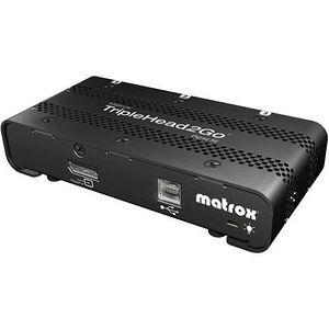 Matrox T2G-DP3D-IF TripleHead2Go Digital SE - MultiView - DisplayPort - DVI - USB