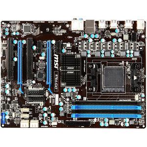 MSI 970A-G43 Desktop Motherboard - AMD Chipset - Socket AM3+