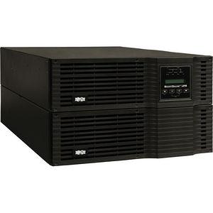 Tripp Lite SU6000RT3UHVXL SmartOnline 6kVA On-Line Double-Conversion UPS, 6U Rack/Tower, 200-240V