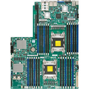 Supermicro MBD-X9DRW-7TPF+-P Server Motherboard - Intel C602-J Chipset - Socket R LGA-2011