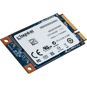 Kingston SMS200S3/60G SSDNow mS200 60 GB Solid State Drive - mini-SATA (SATA/600) - Internal