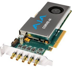 AJA CORVID 44-S-NC1 Low-Profile 8-Lane PCIe, 4x SDI Independently Configurable, No Cables Included