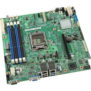 Intel BBS1200V3RPL Server Motherboard - C224 Chipset - Socket H3 LGA-1150 - 10 x OEM Pack