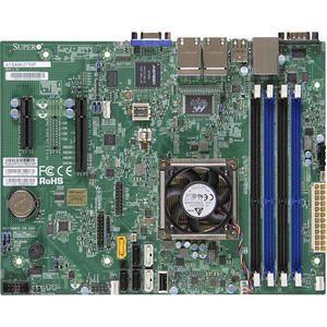 Supermicro MBD-A1SAM-2750F-B Desktop Motherboard - Intel Atom C2750 8 Core - BGA 1283 - Bulk