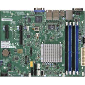 Supermicro MBD-A1SAM-2550F-B Desktop Motherboard - Intel Atom C2550 (4 Core) - BGA 1283 - Bulk