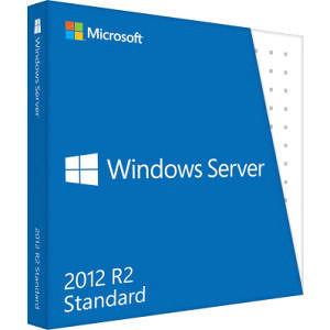 Microsoft P73-06165 Windows Server 2012 R.2 Standard 64-bit - License and Media - 2 Processor - OEM