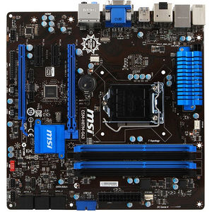 MSI CSM-H87M-G43 Desktop Motherboard - Intel Chipset - Socket H3 LGA-1150