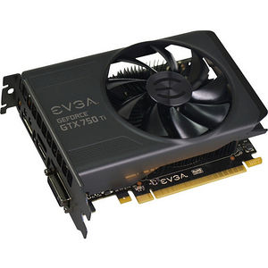 EVGA 02G-P4-3751-KR GeForce GTX 750 Ti Graphic Card - 1.02 GHz Core - 2 GB GDDR5 - PCIE 3.0 x16