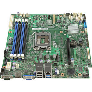 Intel DBS1200V3RPM S1200V3RPM Server Motherboard - Chipset - Socket H3 LGA-1150 - 5 Pack