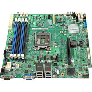 Intel DBS1200V3RPO S1200V3RPO Server Motherboard - Chipset - Socket H3 LGA-1150 - 5 Pack