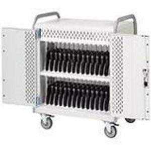 Lenovo 78004359 Bretford Basics 30 Laptop/Netbook Cart MDMLAP30 - Steel