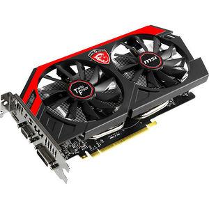 MSI N750TI TF 2GD5/OC GeForce GTX 750 Ti Graphic Card - 1.09 GHz Core - 2 GB GDDR5 - PCI-E 3.0 x16