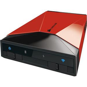 Corsair CMFAIR-RED-500-NA Voyager Air 500 GB Network Hard Drive - External - Portable