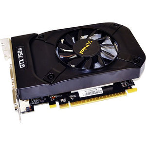 PNY VCGGTX750T2XPB-OC GeForce GTX 750 Ti Graphic Card - 1.20 GHz Core - 2 GB GDDR5 - Dual Slot