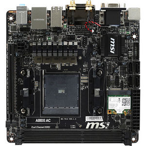 MSI A88XI AC Desktop Motherboard - AMD Chipset - Socket FM2+