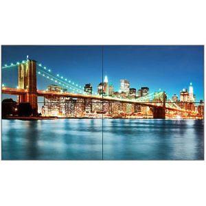 NEC X463UN-TMX4P 4x X463UN Ultra-Narrow 2x2 TileMatrix Video Wall Solution
