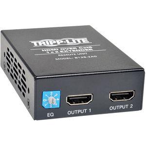 Tripp Lite B126-2A0 2-Port HDMI Over Cat5 Cat6 Audio Video Extender Remote Unit
