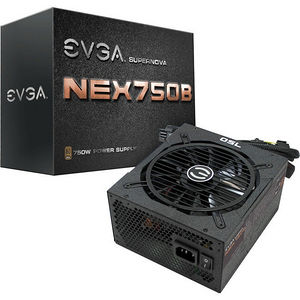 EVGA 110-B1-0750-VR SuperNOVA B1 750W 80Plus Bronze Power Supply Unit