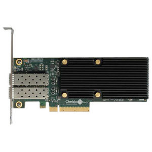 Chelsio T520-SO-CR 2-port Low Pro 1/10GbE Server Offload Adapter W/ PCI-E x8 Gen 3, Server Offload