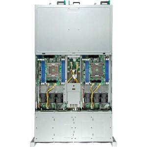 Intel H2216JFKR 2U Rackmount Barebone - 4 Nodes - Socket R LGA-2011 - 2 x Processor Support