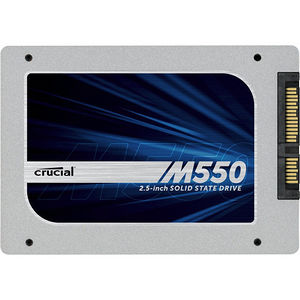 "Crucial CT256M550SSD1 M550 256 GB Solid State Drive - SATA (SATA/600) - 2.5"" Drive - Internal"