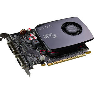 EVGA 04G-P4-2744-KR GeForce GT 740 Graphic Card - 1.06 GHz Core - 4 GB DDR3 SDRAM - PCIE 3.0 x16