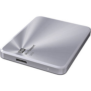 WD WDBTYH0010BSL-NESN My Passport Ultra Metal Edition 1 TB Silver - premium storage with style