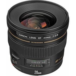 Canon 2509A003 EF 20mm f/2.8 USM Wide Angle Lens