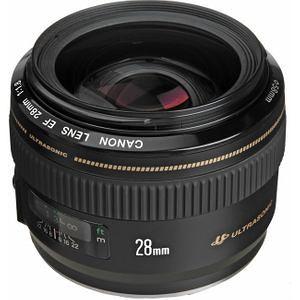 Canon 2510A003 EF 28mm f/1.8 USM Wide Angle Lens