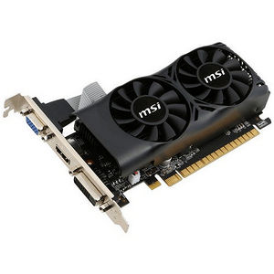 MSI N750TI 2GD5TLP GeForce GTX 750 Ti Graphic Card - 1.02 GHz Core - 2GB GDDR5 - PCI-E 3.0 x16 - LP