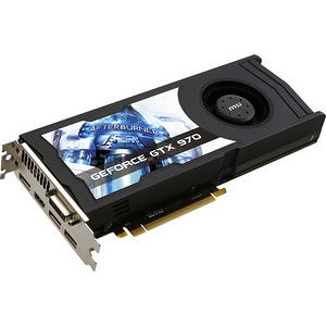 MSI GTX 970 4GD5 OC GeForce GTX 970 Graphic Card - 1.08 GHz Core - 4 GB GDDR5 - PCI-E 3.0 x16