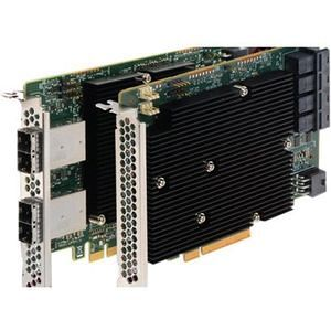 Broadcom 05-25600-00 LSI00447 / SAS 9300-16I SGL - 16 Internal Port 12 Gb/s SAS Controller